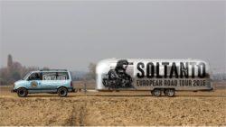 Soltanto caravan european road tour