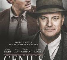 Genius: nelle sale dal 10 novembre