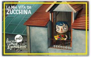 """""""La mia vita da zucchina"""" il 29 ottobre a LUCCA COMICS & GAMES"""