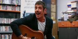 The singer-songwriter Francesco Gabbani, winners of the category ''New Proposals'' at the 66th Sanremo Festival with the song ''Amen'', met his fans at Mondadori bookstore and present his album ''Eternamente Ora''.