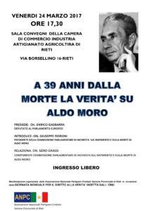 Incontro con il Presidente della commissione di inchiesta parlamentare sul Aldo Moro 24 Marzo 2017-1