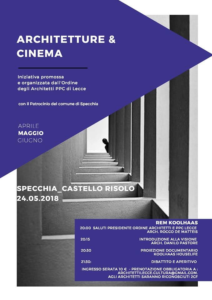 A Specchia: Architetture & Cinema