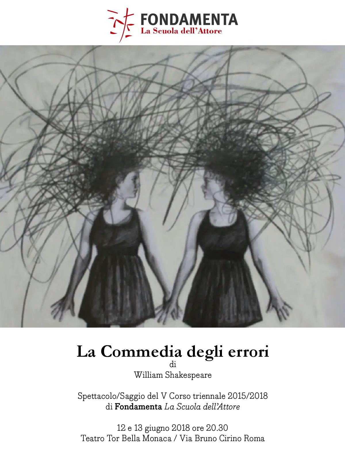 Teatro Tor bella Monaca: La Commedia degli Errori