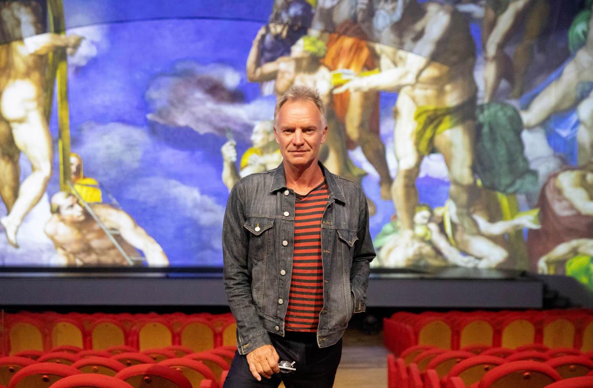 """Sting autore del main theme song di """"Giudizio Universale"""