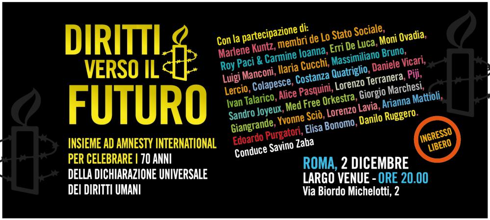 Da Rovigo a Roma gli appuntamenti Amnesty Arte per la Libertà