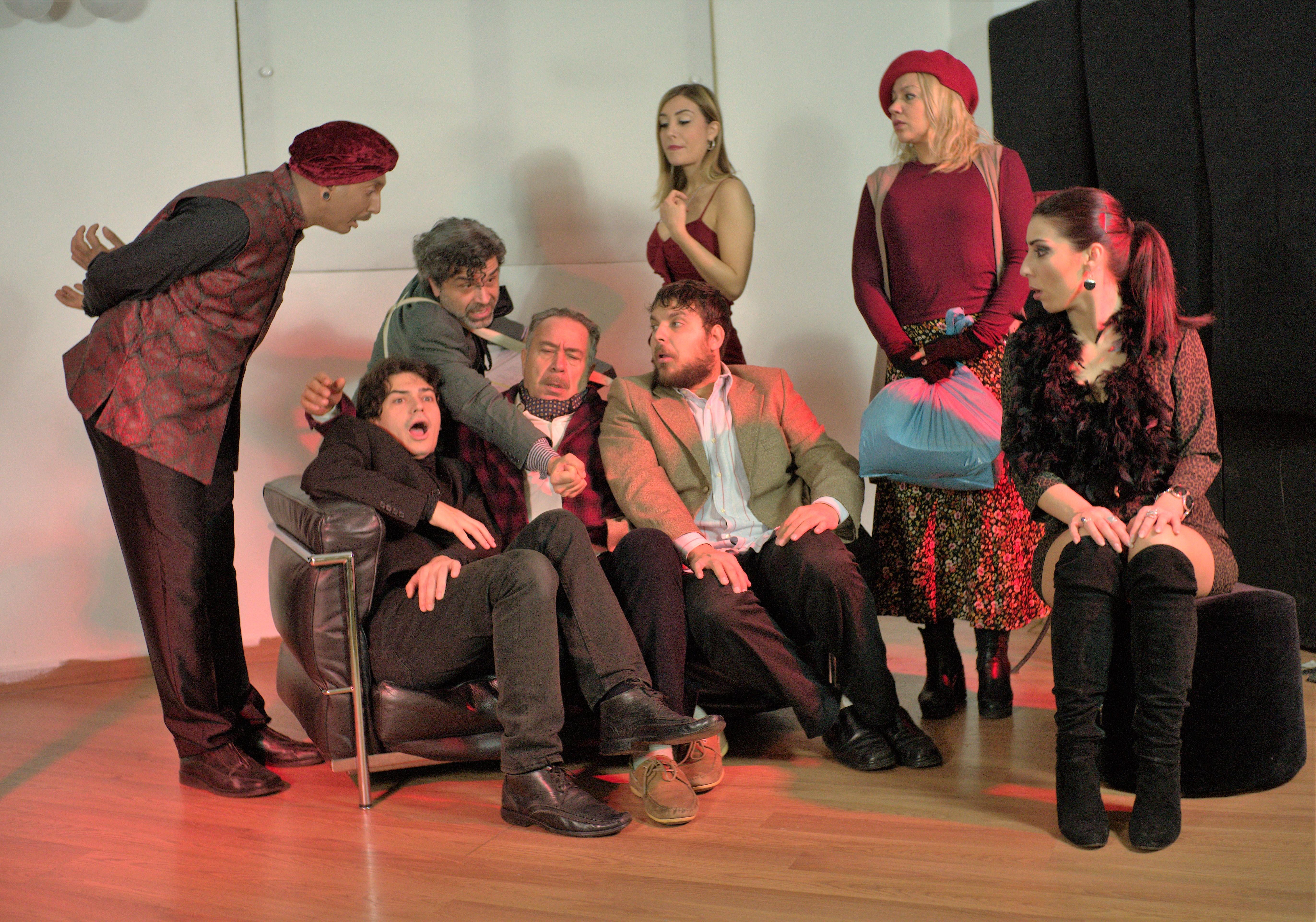 Al Teatro Tirso de Molina di Roma in scena la divertente commedia PENSIONE SILLA