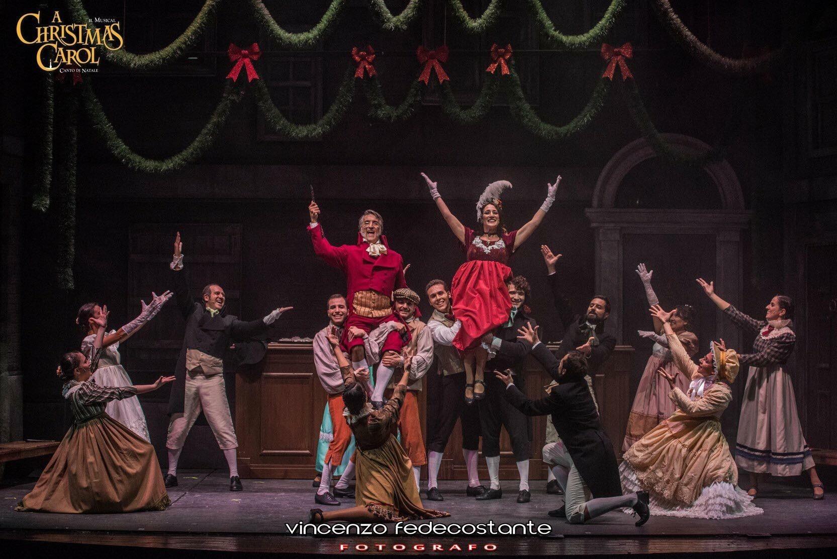 Al Teatro Quirino di Roma A CHRISTMAS CAROL