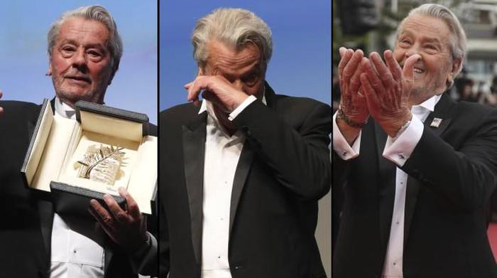 L'Occhio di Toto: il pianto a Cannes del duro Alain Delon