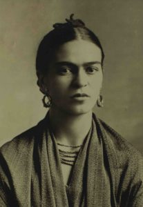 MEXICO CITY, MEXICO - JULY 08:  A portrait of Mexican artist Frida Kahlo by her father Guillermo Kahlo, is displayed at the Frida Kahlo museum on July 08, 2014 in Mexico City, Mexico. Mexico remembers Frida Kahlo on the 107th anniversary of her birth July 06, 1907 and will remember the 60th anniversary of her death next July 13. (Photo by Miguel Tovar/LatinContent/Getty Images)
