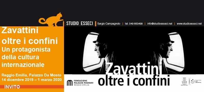 """A Reggio Emilia una mostra dal titolo  """"Zavattini oltre i confini"""""""