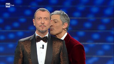 Fantastici Fiore ed Amadeus:  ottimi gli ascolti per il Festival di Sanremo 2020