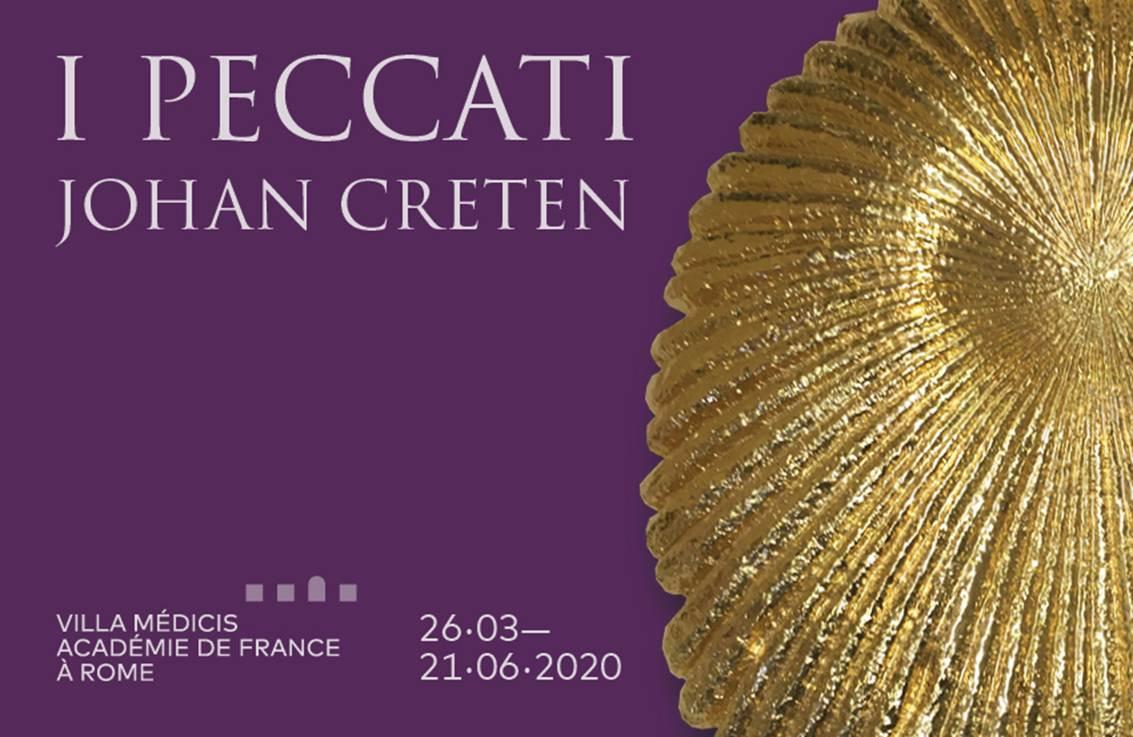 """Dal 26 marzo a Roma  la mostra """"I Peccati di Johan Creten"""""""