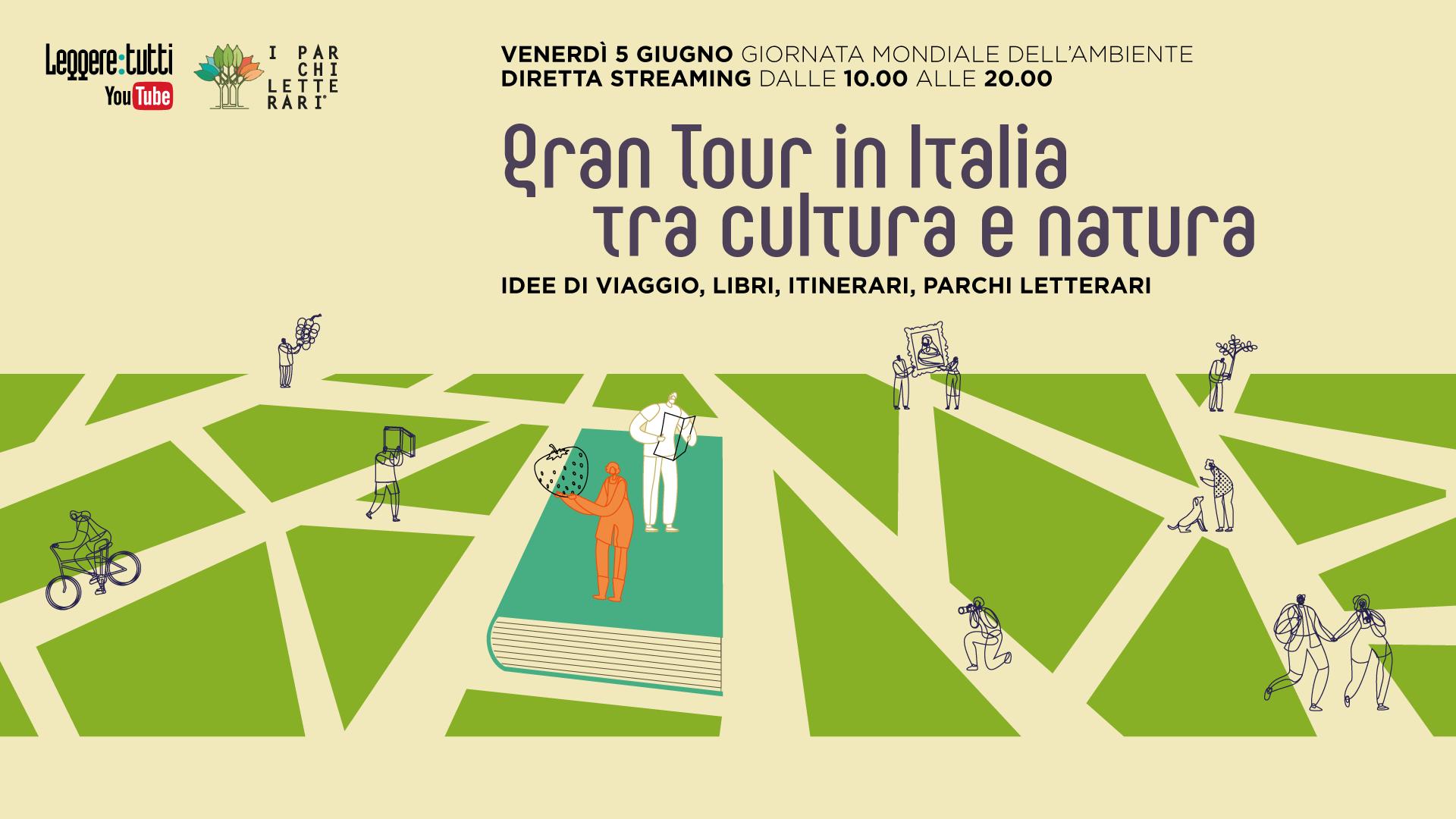 Gran Tour in Italia tra cultura e natura con Leggere Tutti